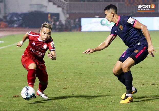 Đình Trọng đang dưỡng thương vẫn vào TPHCM thăm bạn gái và cổ vũ cho đội bóng cũ tại V.League - Ảnh 9.