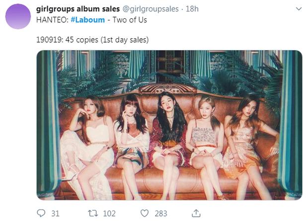 Bán được vỏn vẹn... 45 album ngày đầu, girlgroup đánh bại IU 2 năm trước nhận đủ lời mỉa mai khi gián tiếp thừa nhận gian lận - Ảnh 3.