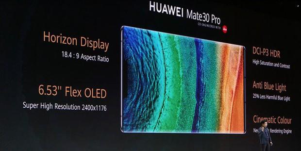 Huawei Mate 30 và Mate 30 Pro ra mắt: Màn hình chân trời, slow-motion 7680fps, loại bỏ nút vật lý, không có dịch vụ Google - Ảnh 4.