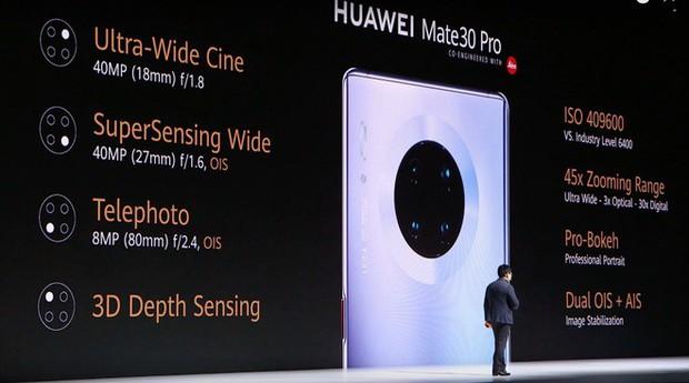 Huawei Mate 30 và Mate 30 Pro ra mắt: Màn hình chân trời, slow-motion 7680fps, loại bỏ nút vật lý, không có dịch vụ Google - Ảnh 25.