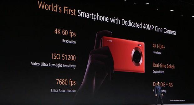 Huawei Mate 30 và Mate 30 Pro ra mắt: Màn hình chân trời, slow-motion 7680fps, loại bỏ nút vật lý, không có dịch vụ Google - Ảnh 29.