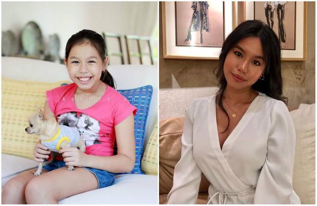 Ái nữ thứ 2 của nữ hoàng ảnh lịch Diễm My: Sinh năm 2000, nhỏ trắng trẻo lớn đổi style da nâu cực Tây và quyến rũ! - Ảnh 2.