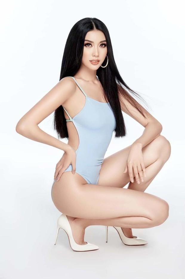 Lộ 3 mỹ nhân được yêu thích nhất tại Hoa hậu Hoàn vũ: Thúy Vân - Tường Linh quá nóng bỏng, nữ sinh 2000 mới bất ngờ! - Ảnh 2.