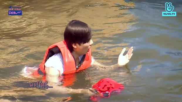 Trai đẹp của boygroup người Việt D1Verse gặp chấn thương nhẹ khi nô đùa dưới nước - Ảnh 4.