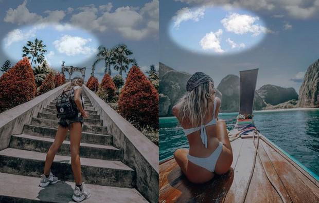 Cái kết có hậu: Nữ Instagramer ghép mây giống nhau ở tất cả ảnh được mời hợp tác phát triển ứng dụng chỉnh sửa ảnh - Ảnh 1.