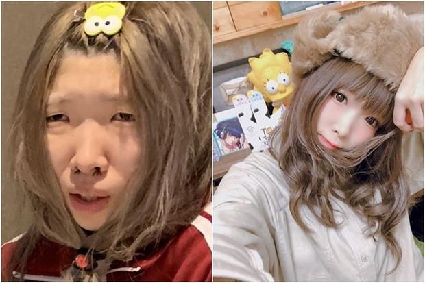 Sở hữu mặt mộc xấu ma chê quỷ hờn, hot girl Nhật Bản vẫn hút cả triệu fan nhờ tài nghệ biến hình đỉnh cao - Ảnh 5.