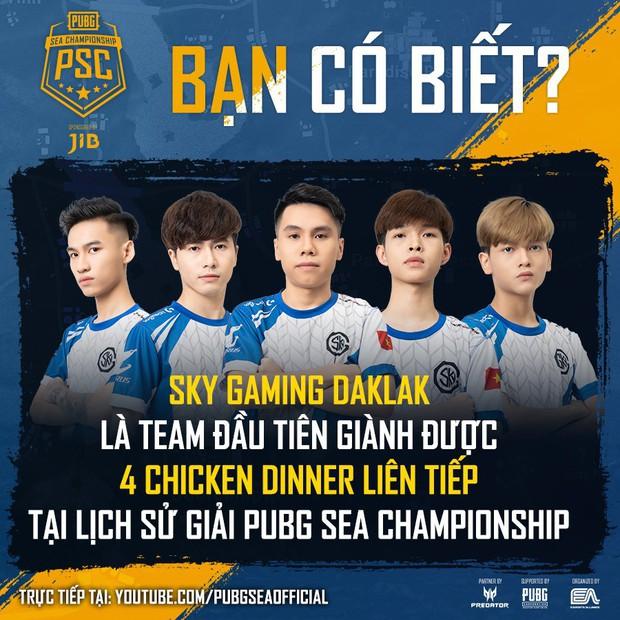Tuyển PUBG Việt Nam hủy diệt vòng Main Stage giải đấu JIB PUBG SEA Championship Phase 3, dẫn đầu vòng online đầy thuyết phục - Ảnh 3.