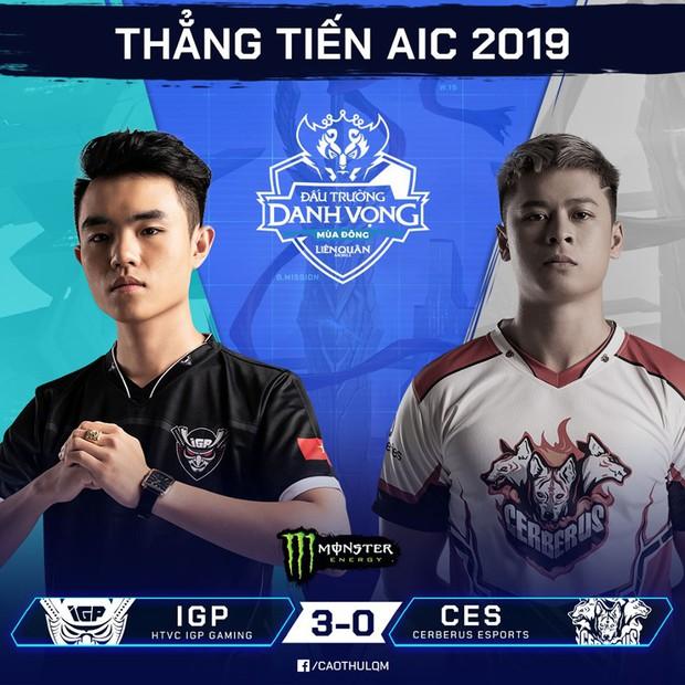 Vượt qua cả Team Flash lẫn MZ Esports trên BXH, IGP Gaming chính là đội tuyển đầu tiên của Việt Nam giành được vé đến AIC 2019 - Ảnh 1.