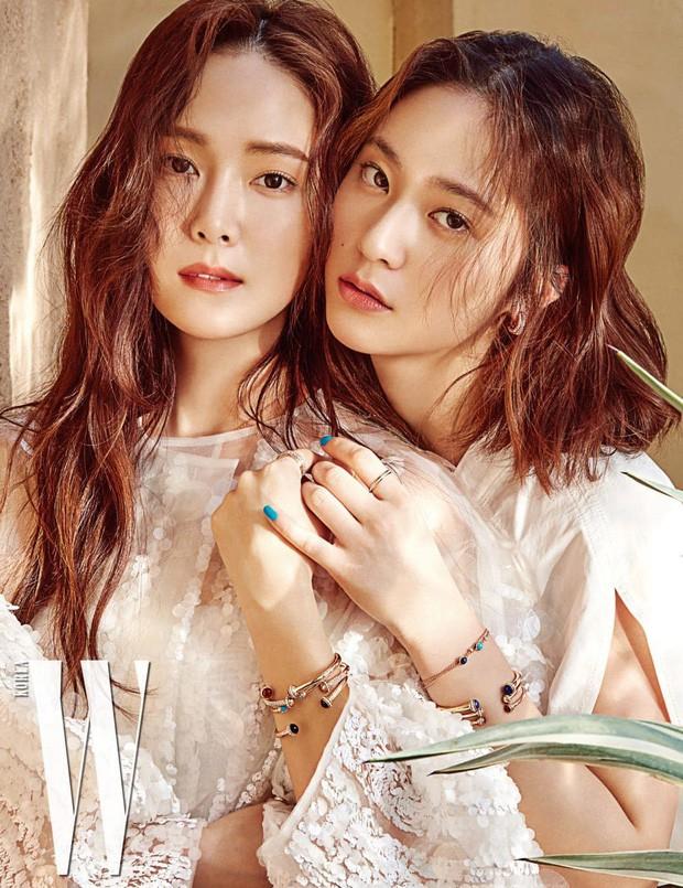 Loạt ảnh quay show mới của chị em Jessica – Krystal: Khí chất đại tiểu thư ngút ngàn tại trời Tây - Ảnh 5.