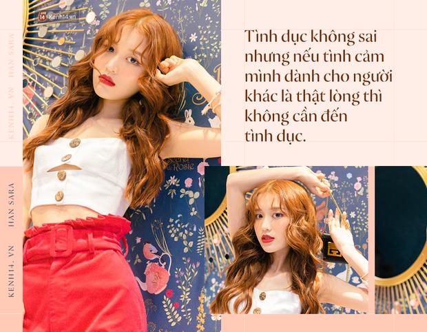 """""""Siêu Quậy Có Bầu Han Sara: Một số người không ủng hộ em vì em là người Hàn, biết sao giờ, em chỉ biết im lặng cố gắng - Ảnh 8."""