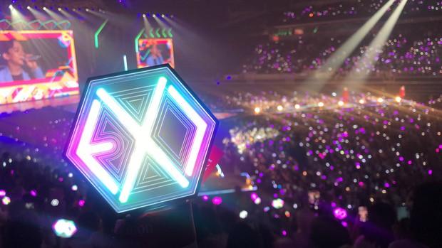 Fan BLACKPINK, TWICE bất ngờ trà trộn vào concert mới nhất của EXO: Chỉ đơn giản là fan lai hay đi cà khịa dạo? - Ảnh 5.