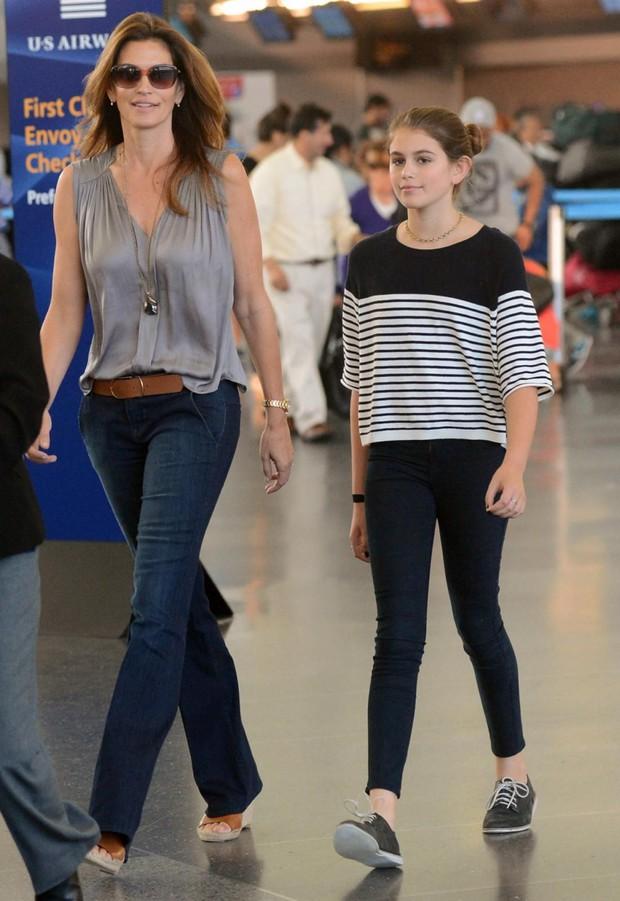 Công chúa nhà sao Hollywood nay đã lớn cả rồi: Kaia Gerber xinh ngút ngàn cũng chưa bằng ái nữ tài tử Fast & Furious - Ảnh 8.