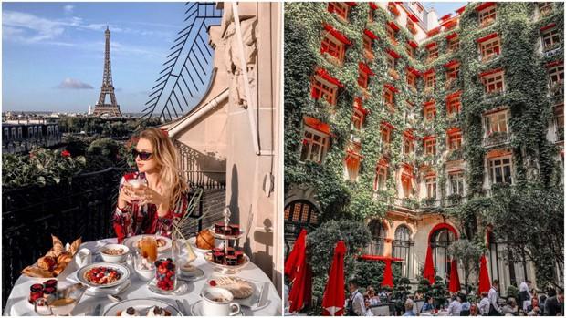 """Room tour """"ngổn ngang"""" của Ngọc Trinh ở khách sạn Paris tiết lộ sự thật về 1 kiểu người chúng ta hay gặp mỗi khi đi khách sạn - Ảnh 2."""