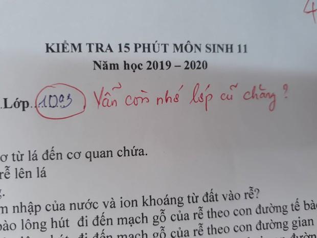 Cô giáo thu về 50 nghìn like chỉ nhờ một lời phê vài bài kiểm tra, đọc vào mới biết lỗi này trò nào cũng mắc phải đôi ba lần - Ảnh 1.