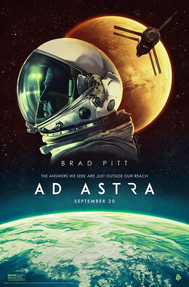 """""""Ad Astra"""": Hành trình đơn độc của Brad Pitt tới những vì sao - Ảnh 2."""