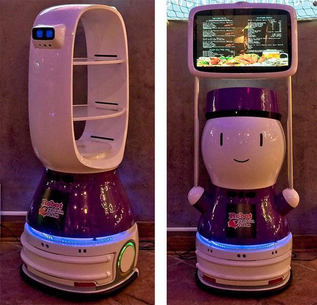 Khi giới trẻ Trung Quốc không muốn làm phục vụ bàn, các cửa hàng đành nhờ cậy vào robot - Ảnh 3.