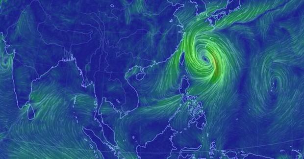 Bão lớn đổ bộ Nhật Bản, gần 300 chuyến bay bị hủy - Ảnh 3.