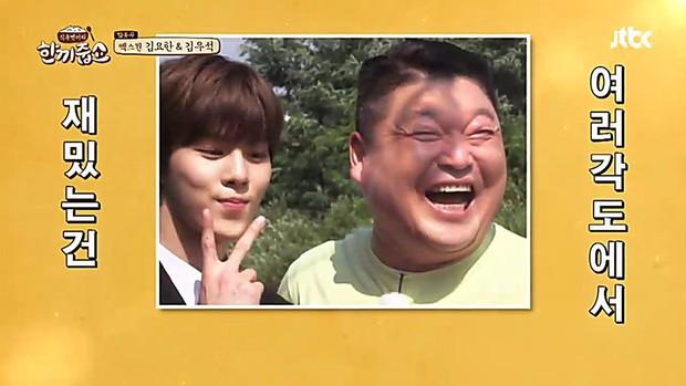Choáng váng với màn so mặt của mỹ nam X1 và MC kỳ cựu Kang Ho Dong! - Ảnh 3.