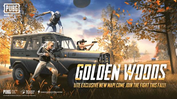 PUBG Mobile Lite ra bản cập nhật mới, xuất hiện bản đồ độc quyền mang tên Golden Woods - Ảnh 1.