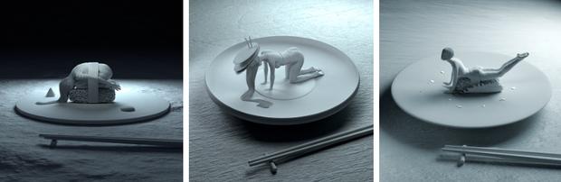 """Đang định ăn sushi thì thấy miếng thịt… uốn éo như tập yoga, nhìn """"chết khiếp"""" nhưng lại là một nghệ thuật ở Nhật - Ảnh 5."""