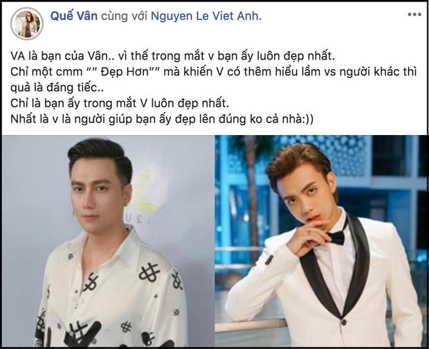 Quế Vân cuối cùng đã lên tiếng giải thích về phát ngôn Việt Anh đẹp hơn cả Soobin hậu thẩm mỹ gây bão MXH - Ảnh 1.