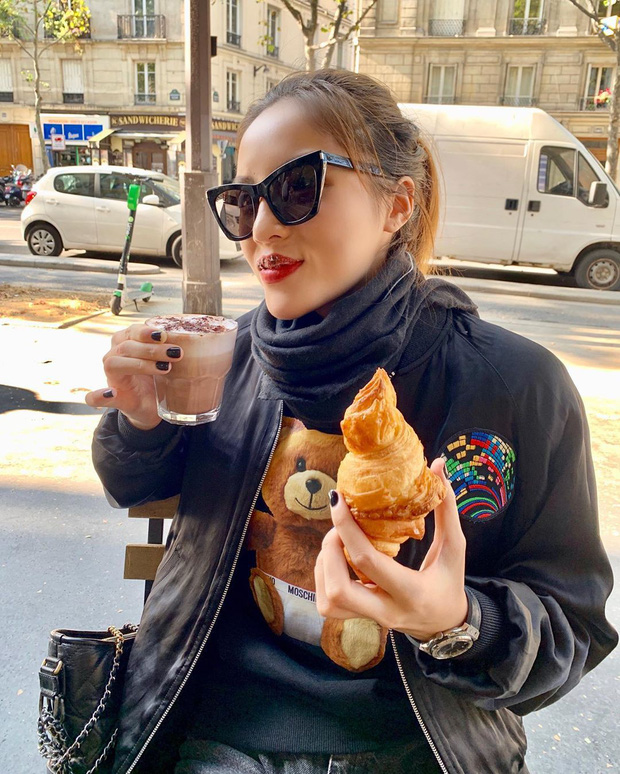 Trời, ăn uống với Kỳ Duyên bây giờ là ở level đam mê rồi: sang Pháp ăn bánh ngọt thôi mà đăng tận 8 cái story, 10 bức hình để khoe! - Ảnh 7.