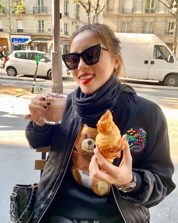 Trời, ăn uống với Kỳ Duyên bây giờ là ở level đam mê rồi: sang Pháp ăn bánh ngọt thôi mà đăng tận 8 cái story, 10 bức hình để khoe! - Ảnh 8.