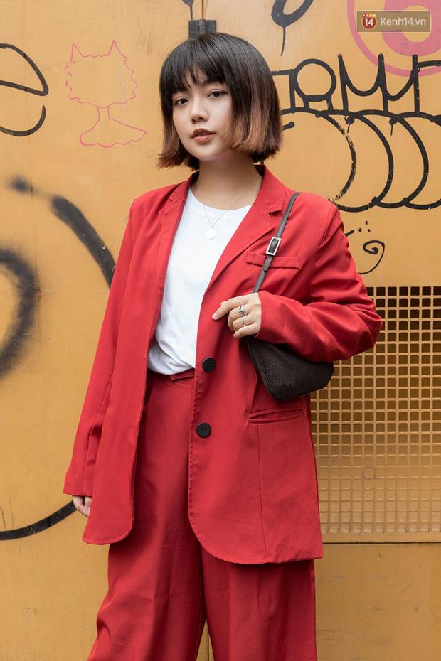 Street style giới trẻ Việt: Đã lên đồ siêu cool, các bạn trẻ còn pose chất quá trời quá đất, chẳng thua fashion icon nào - Ảnh 13.