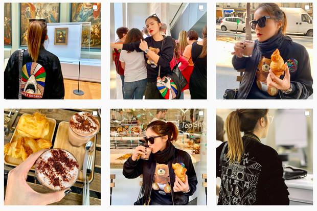 Trời, ăn uống với Kỳ Duyên bây giờ là ở level đam mê rồi: sang Pháp ăn bánh ngọt thôi mà đăng tận 8 cái story, 10 bức hình để khoe! - Ảnh 4.