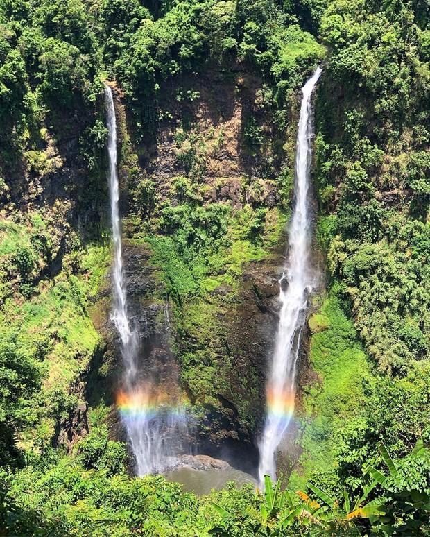 Muốn thử cảm giác mạnh ở Lào, đu đưa ngay trên võng và uống cafe giữa thác nước cao 140m này đi! - Ảnh 8.