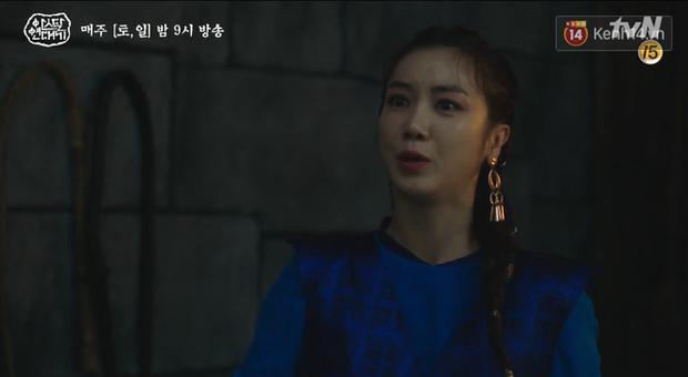 Lạnh người màn dằn mặt Jang Dong Gun của mẹ trẻ Kim Ok Bin ngay tập 17 Arthdal Niên Sử Kí - Ảnh 5.