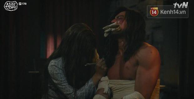 Lạnh người màn dằn mặt Jang Dong Gun của mẹ trẻ Kim Ok Bin ngay tập 17 Arthdal Niên Sử Kí - Ảnh 12.