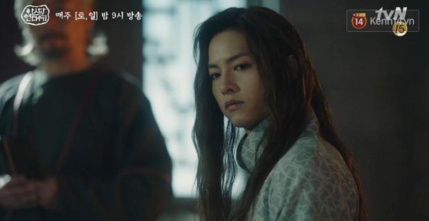 Lạnh người màn dằn mặt Jang Dong Gun của mẹ trẻ Kim Ok Bin ngay tập 17 Arthdal Niên Sử Kí - Ảnh 8.