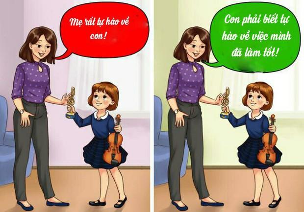 12 câu mà cha mẹ tuyệt đối đừng bao giờ nói với con cái, nếu không muốn chúng tổn thương tâm lý nặng nề - Ảnh 1.