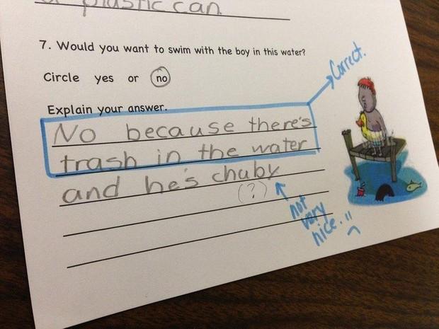 Chào thua trước những câu trả lời bá đạo của hội học trò, thầy cô giáo xem xong chỉ biết câm nín không muốn nói gì thêm - Ảnh 13.