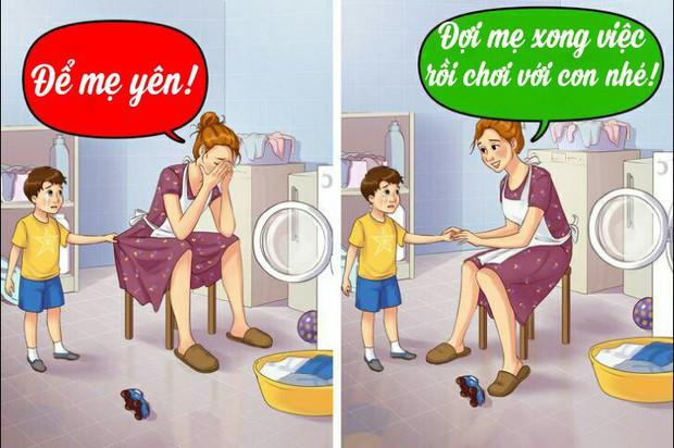 12 câu mà cha mẹ tuyệt đối đừng bao giờ nói với con cái, nếu không muốn chúng tổn thương tâm lý nặng nề - Ảnh 3.