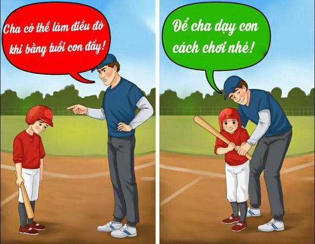 12 câu mà cha mẹ tuyệt đối đừng bao giờ nói với con cái, nếu không muốn chúng tổn thương tâm lý nặng nề - Ảnh 5.