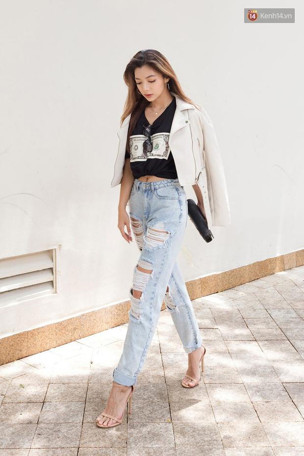 Street style giới trẻ Việt: Đã lên đồ siêu cool, các bạn trẻ còn pose chất quá trời quá đất, chẳng thua fashion icon nào - Ảnh 4.
