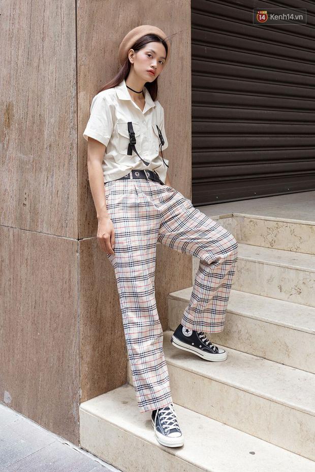 Street style giới trẻ Việt: Đã lên đồ siêu cool, các bạn trẻ còn pose chất quá trời quá đất, chẳng thua fashion icon nào - Ảnh 6.