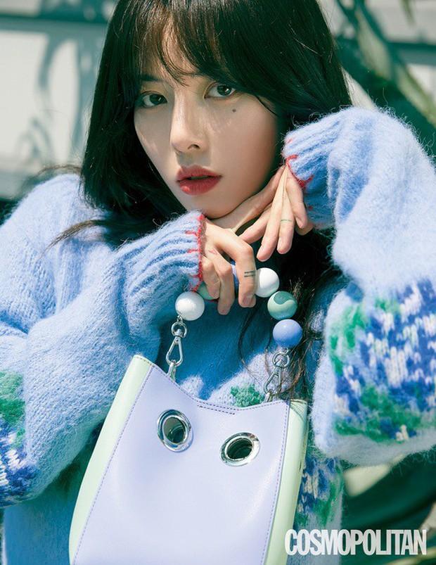 Sau màn hở bạo nhức mắt, HyunA lột xác trong loạt ảnh tạp chí: Con gái đúng là đẹp nhất khi nhẹ nhàng thế này thôi! - Ảnh 1.