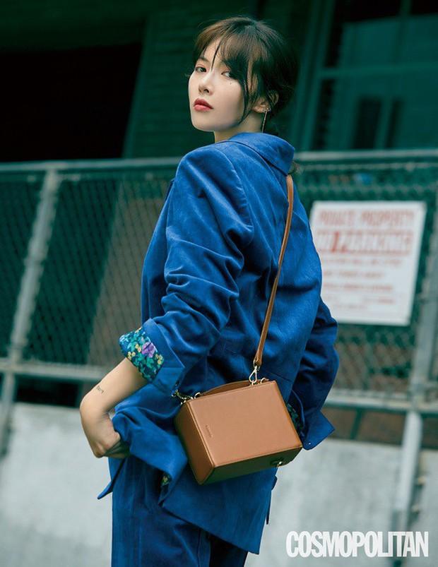 Sau màn hở bạo nhức mắt, HyunA lột xác trong loạt ảnh tạp chí: Con gái đúng là đẹp nhất khi nhẹ nhàng thế này thôi! - Ảnh 2.