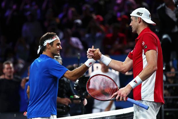 Khoảnh khắc may ra cả năm mới có 1 lần: Federer và Nadal rạng rỡ cùng nhau nâng cúp vô địch thế giới - Ảnh 3.