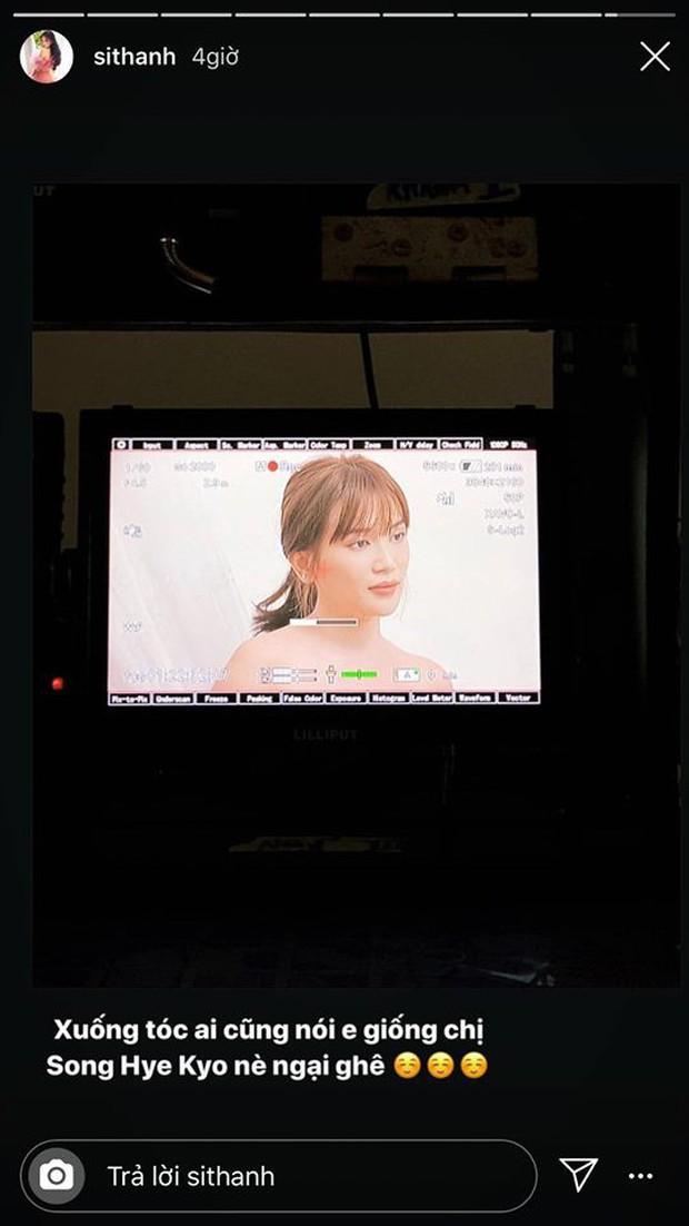 Sóng gió cũ chưa nguôi, Sĩ Thanh lại bị netizen tổng tấn công khi tự nhận giống nữ hoàng nhan sắc Song Hye Kyo - Ảnh 3.