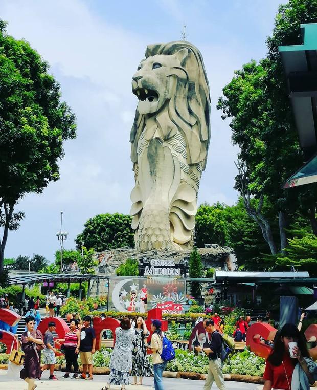 HOT: Bức tượng sư tử biển nổi tiếng trên đảo Sentosa ở Singapore sắp bị dỡ bỏ, dân mạng tiếc nuối tranh cãi dữ dội - Ảnh 14.