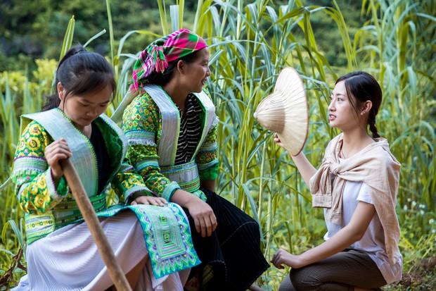 Lương Thùy Linh để mặt mộc vẫn xinh rạng rỡ, quyết lập kỳ tích tại Miss World 2019 với dự án mở đường ở Cao Bằng - Ảnh 5.