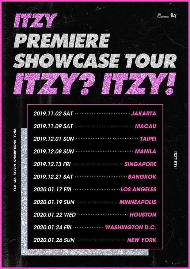 Debut quá thành công, siêu tân binh ITZY vội vàng Mỹ tiến với tour lưu diễn dài hơi sau chưa đầy 1 năm ra mắt - Ảnh 2.