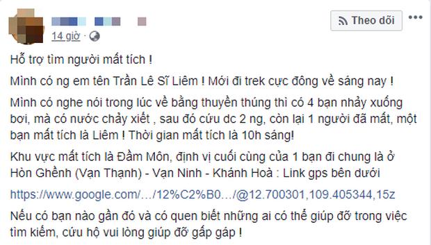 Nhóm bạn trẻ Sài Gòn gặp nạn trên hành trình chinh phục cực Đông khiến 1 người chết, 1 người mất tích - Ảnh 2.