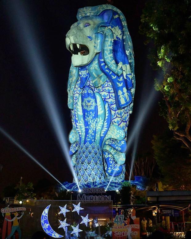 HOT: Bức tượng sư tử biển nổi tiếng trên đảo Sentosa ở Singapore sắp bị dỡ bỏ, dân mạng tiếc nuối tranh cãi dữ dội - Ảnh 3.