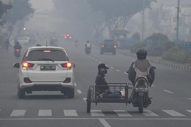 Indonesia: Chất lượng không khí của thủ đô khói mù xuống thấp kỷ lục  - Ảnh 1.