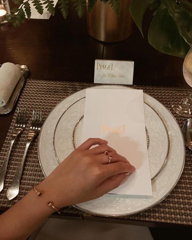 Châu Bùi đeo đồng hồ tiền tỷ dự sự kiện Piaget tại Bangkok - Ảnh 4.